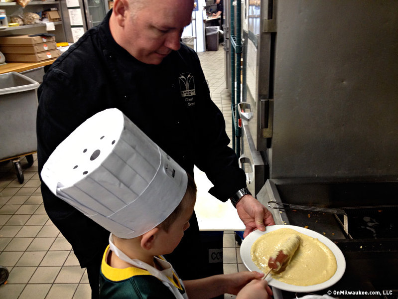 Chef Paul Smitala is great with kids and his classes teach young ones to navigate the kitchen, but also to have a good time cooking.