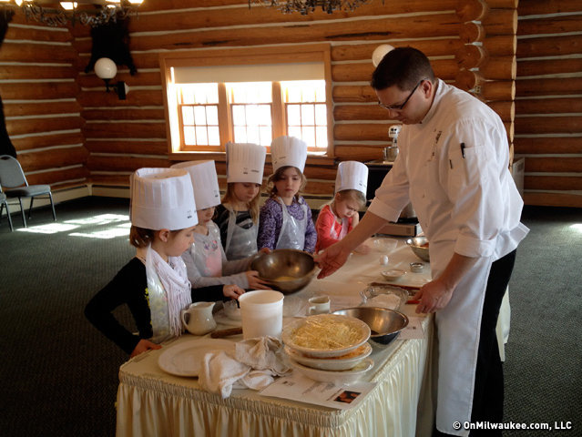 Smitala's cooking classes at Blackwolf Run are a steal at $20 for a 90-minute class.