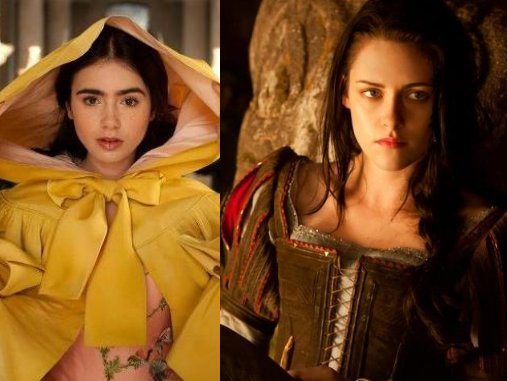 Snow White's the most recent character doing double duty in Hollywood.