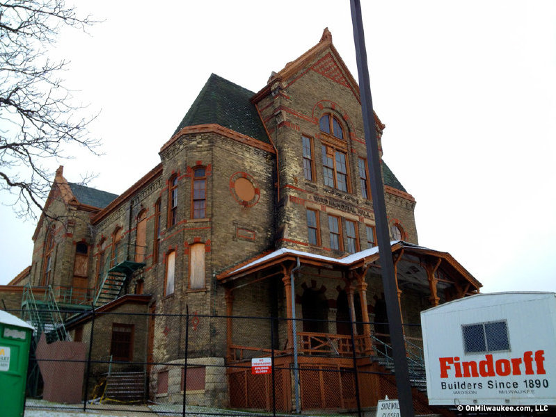 Henry Koch's Ward Memorial Hall will get some repairs this summer.