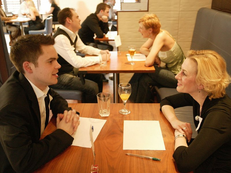 How does speed dating actually work