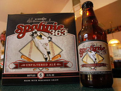 Raise a glass of Spahnie 363 in honor of a Braves legend