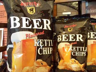 Do Sprecher potato chips taste like beer? Image