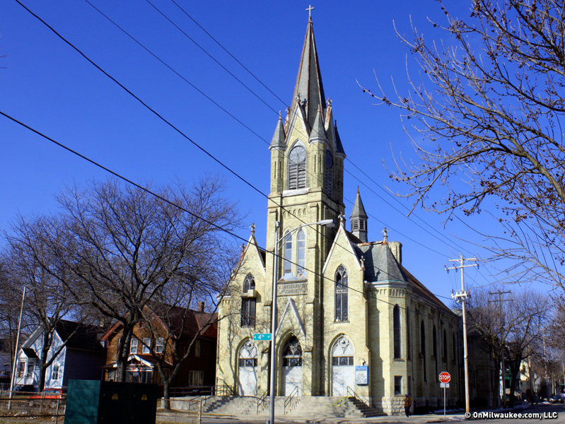 The Church Was Erected In 1892 On Site Of A Previous Built 1870