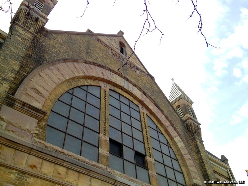 Edward Townsend Mix Designed The Grand Avenue Congregational Church 2133 W Wisconsin Ave