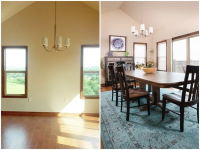 Steinhafels Before and After: Couple invests in creating their dream home