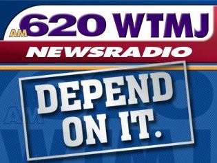 WTMJ-AM has the Milwaukee Brewers Sunday, WLWK has the Packers.