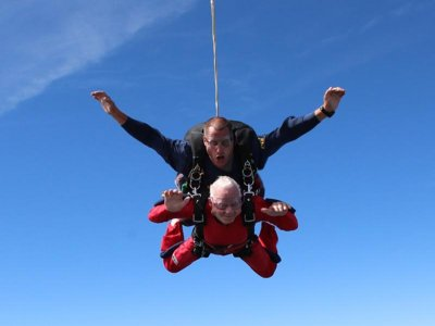 88-year-old skydiver
