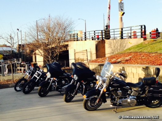 Wisconsin bikers are rarin' to go.