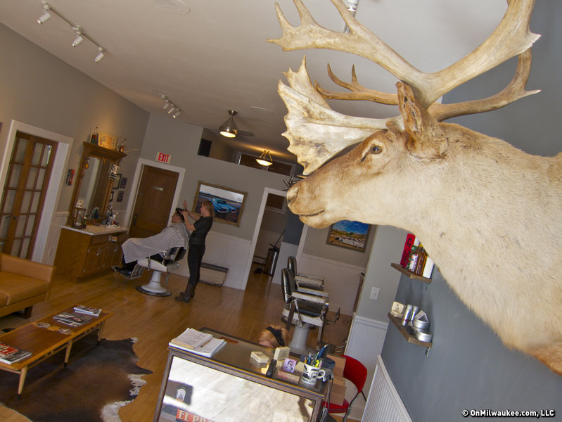 "Stag, one of the ""16 Best Barbershops in America."""