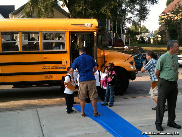 MPS will roll out the first day of school carpet for kindergarteners on a staggered schedule next week.