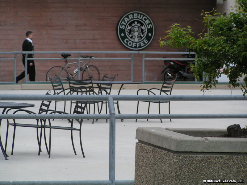 If Howard Shultz visits Milwaukee it might be in part due to the shooting of Dontre Hamilton near a Starbucks.