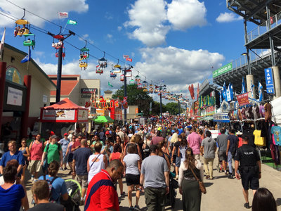 State Fair draws more than a million in attendance for fourth straight year