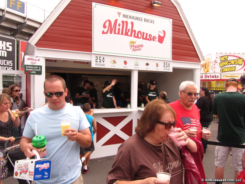 The milk house lives on at Wisconsin State Fair.