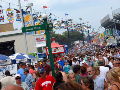 Wisconsin State Fair to make its mark on the Travel Channel