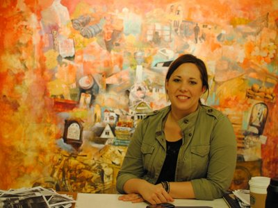 Painter Stephanie Barenz Image