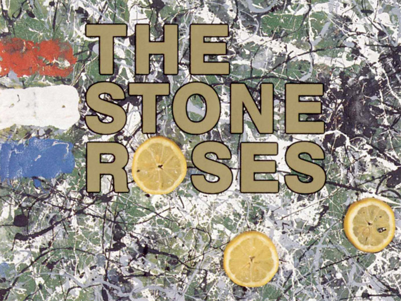 The Stone Roses had a style all their own. Lead guitarist John Squire was also an amateur painter and was pretty enamored with Jackson Pollock.