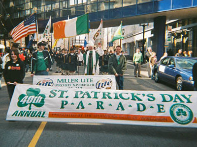 St. Patrick's Day Parade set for March 12 in Downtown Image