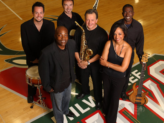 Still the Bucks house band, the group plays before select games and halftimes.  (photo: bucks.com)
