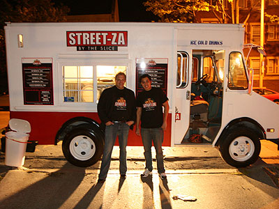 Streetza keeps the party going with late-night pizza