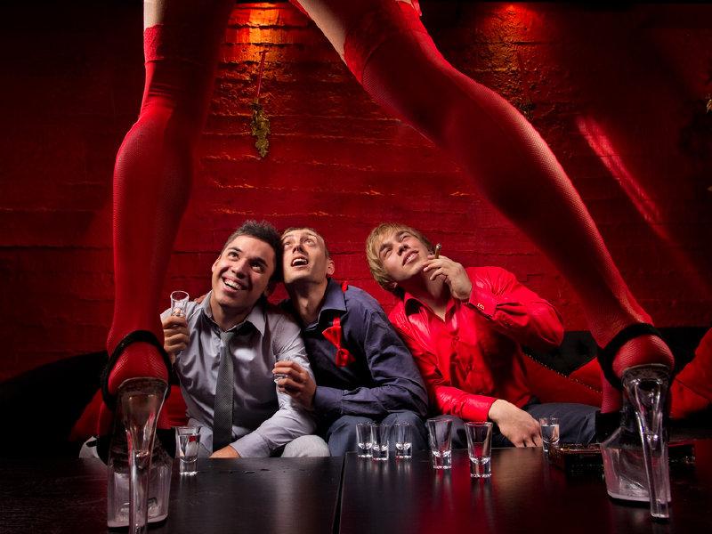 Bachelor las party private stripper vegas