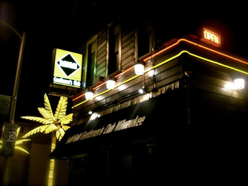 The bare facts milwaukee strip club guide onmilwaukee the remodeled solid gold added palm trees to south 1st street aloadofball Images