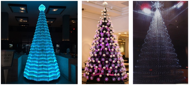 Artful holiday trees are a 40-year
