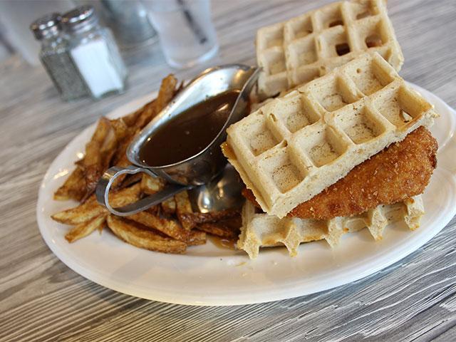 En Waffle Sliders At The Farmer S Wife