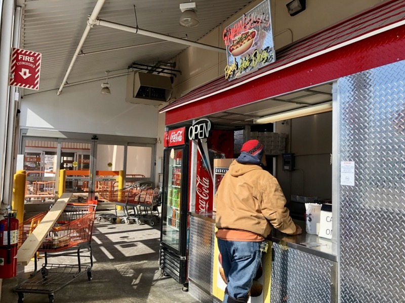 Unexpected eats: The hot dog stand inside Home Depot
