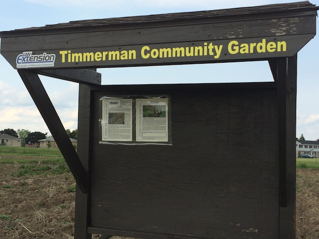 The Timmerman Community Garden in Valhalla.