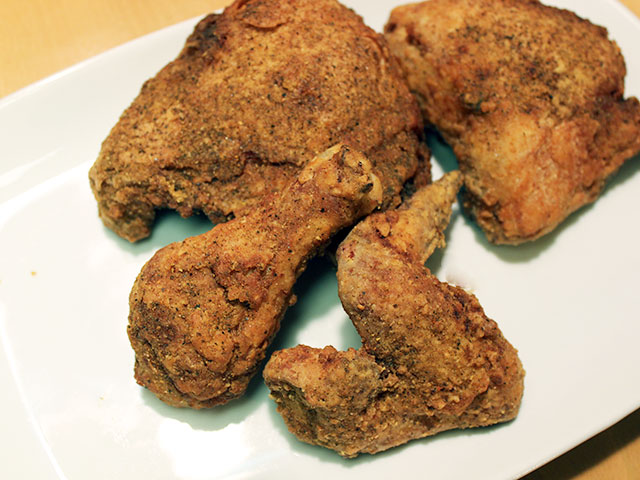 lazy susanu0027s kfc meets all criteria the korean spice brined chicken is flavorful and pleasantly salty with a riceflour based coating that stays crunchy to