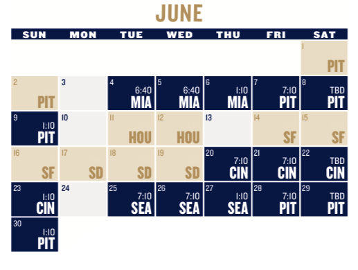 Trust image within printable brewers schedule
