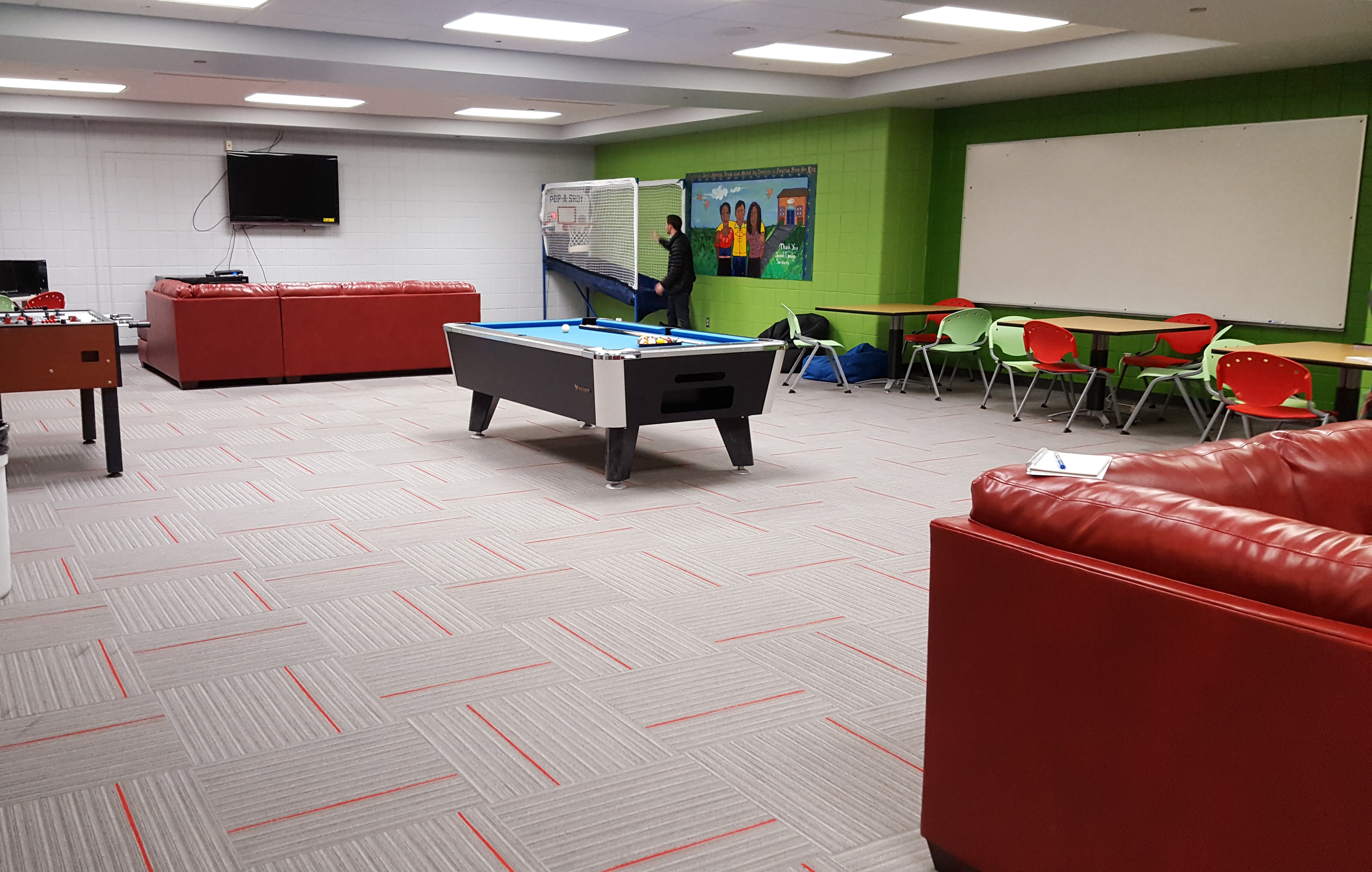 community celebrates renovated sherman park area boys girls club a new career development area includes a teen job center to help 16 24 year olds work