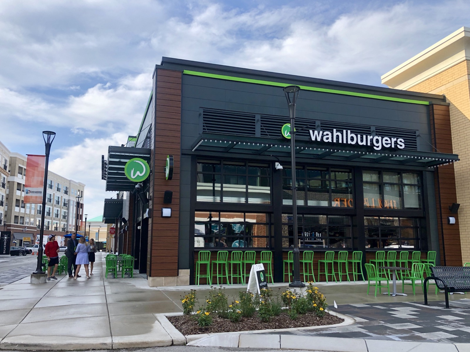 Take A Peek At Wahlburgers Which Opens Tuesday At Corners