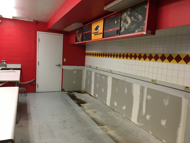 Work Recently Began On Concession Stand Upgrades