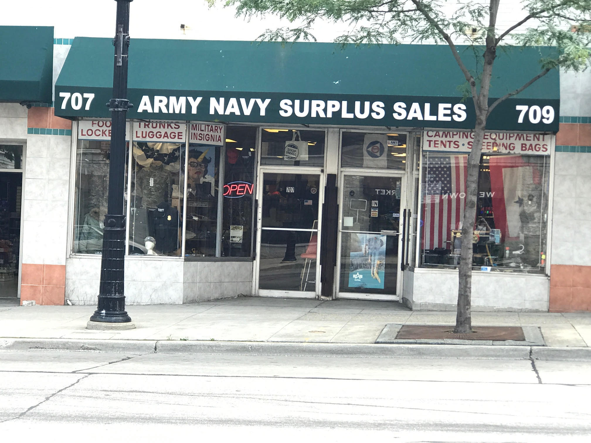 Army Navy Surplus Sales features unique owner, history and merch