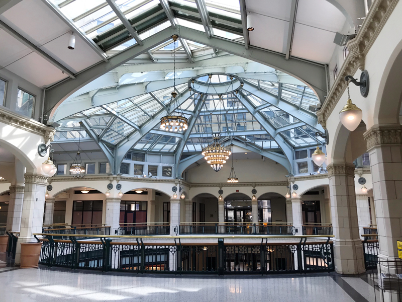 A look inside the conversion of the Grand Avenue into The