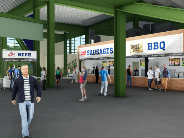 Brewers transforming food, beverages, concession areas