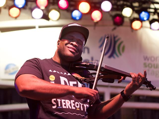 Black Violin strings together hip-hop and classical at joyful