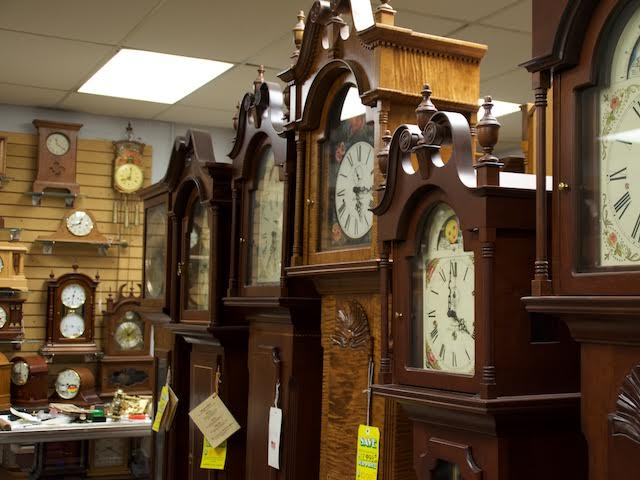 For Decades, Hawkins Sold Primarily Grandfather Clocks, And Remains The  Largest Grandfather Clock Store In The Midwest, With More Than 600 On  Display In The ...