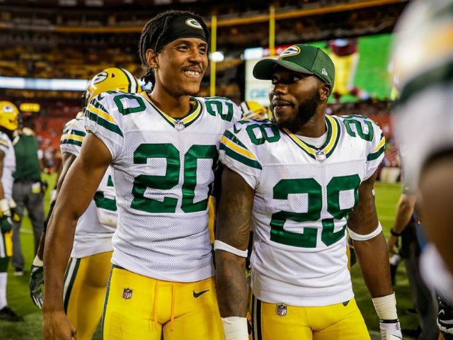 Image result for packers training camp 2017 cornerbacks