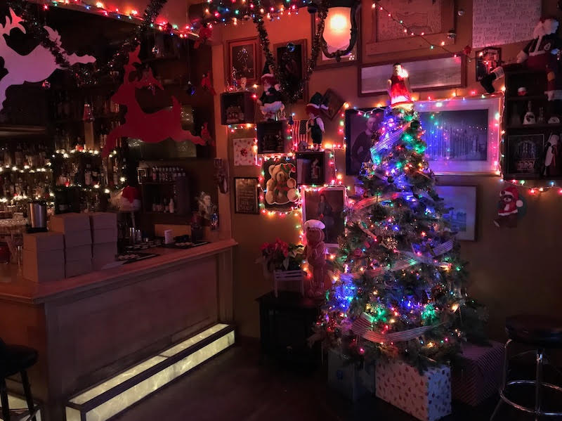 Tin Widow transforms into very Christmassy