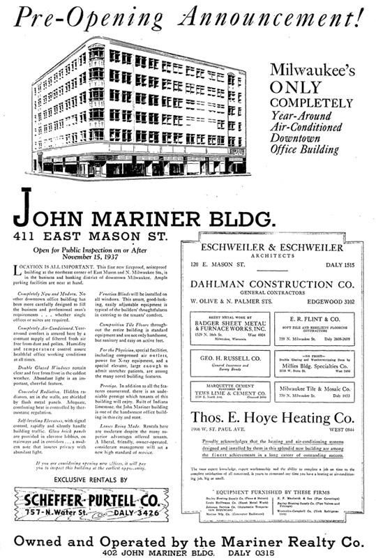 Urban Spelunking: Hotel Metro / John W  Mariner Building