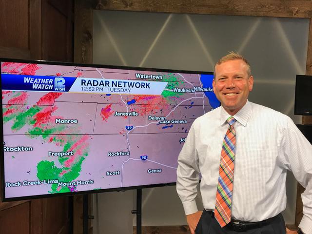 Milwaukee Talks: WISN-TV Chief Meteorologist Mark Baden