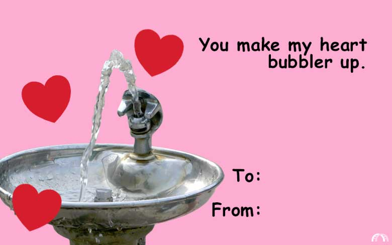 Send these punny Milwaukee Valentines to your sweets OnMilwaukee – Send a Valentines Card