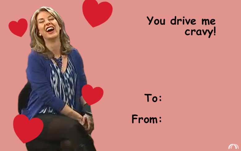 Send these punny Milwaukee Valentines to your sweets OnMilwaukee – To from Valentine Cards