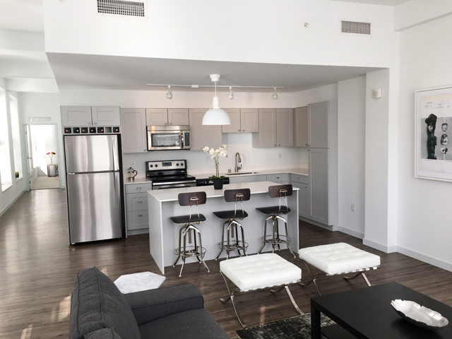 Apartments Have A Clean Modern Feel