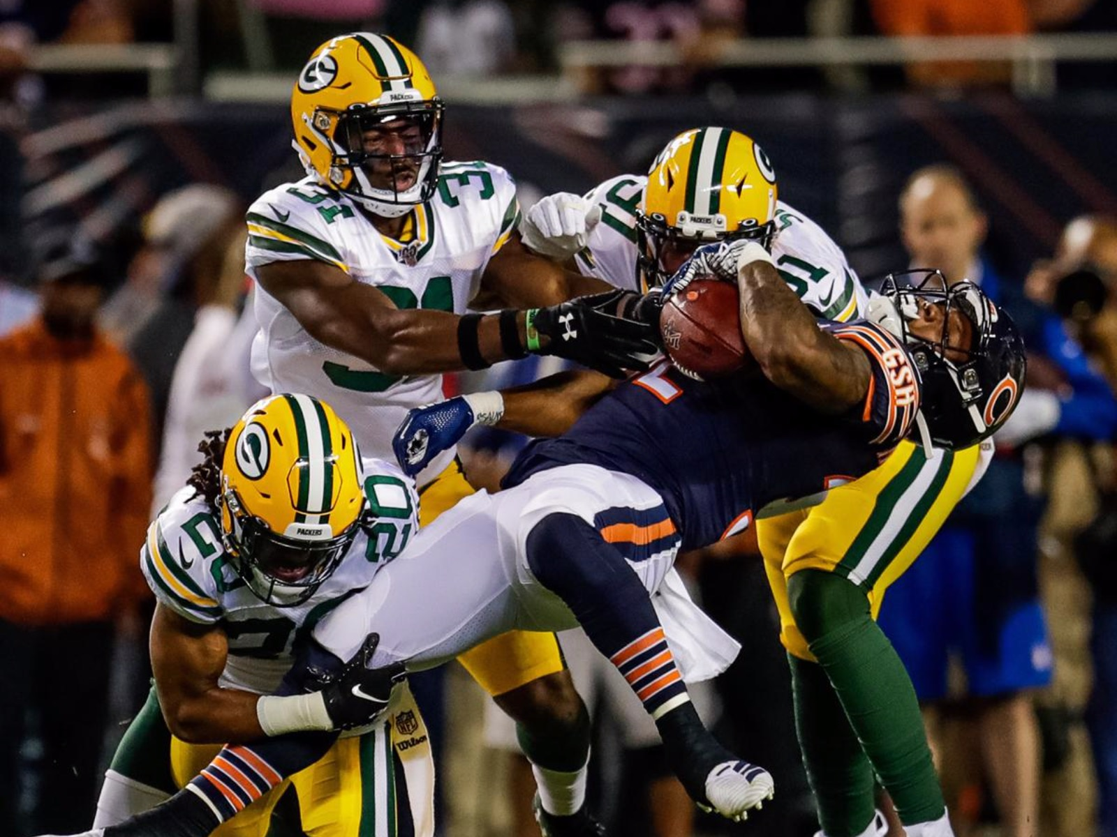 new product 1b315 ec00a 10 memorable images from a Packers season-opening win we'd ...