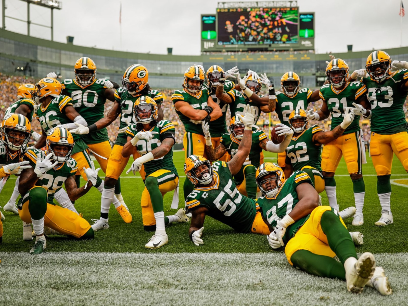 10 cool images from the Packers' cool