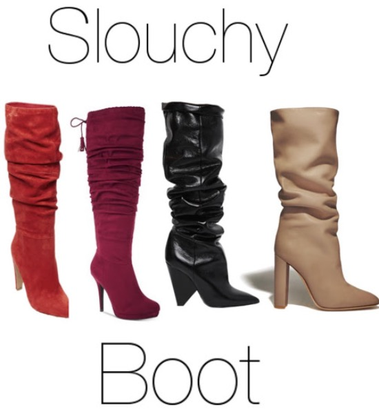 a990e521250 The slouchier, the better this season! Wear them over skinny jeans or with  a dress to give a chic effortless style. Wear these in any color, heel  height or ...